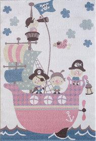 Kinder vloerkleden en tapijten Bisa Kids 4604 Creme