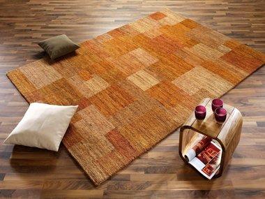 Nepal zuiver scheerwol vloerkleed Tradition Oranje C45