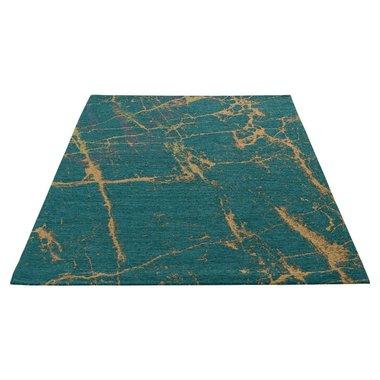 Wasbaar vloerkleed Bahama blauw 6951