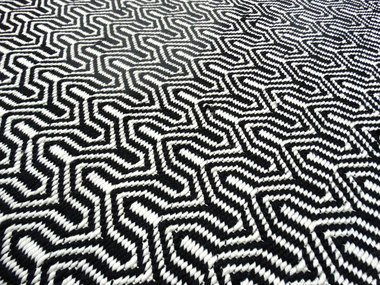 Vloerkleden Taunus Zwart wit