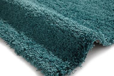 Effen vloerkleed Praxus kleur bright blauw 2236