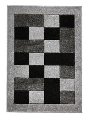 Vloerkleed Madras kleur grijs MT04