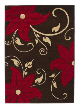 Kleed Victoria kleur bruin rood OC15