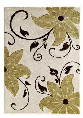 Vloerkleden Victoria kleur beige groen OC15