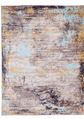 Vloerkleed Pastel kleur grijs