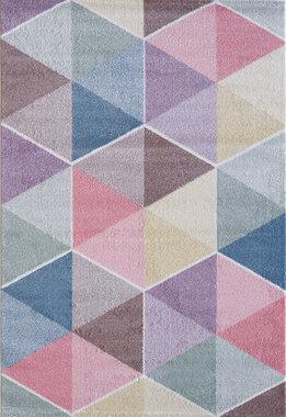 Kinder vloerkleden en tapijten Bisa Kids 4607 Creme