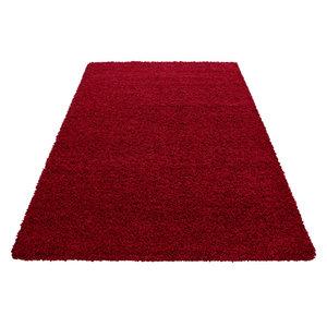 donker rood vloerkleed